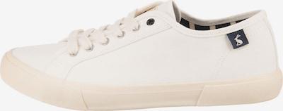 Tom Joule Sneakers in weiß, Produktansicht