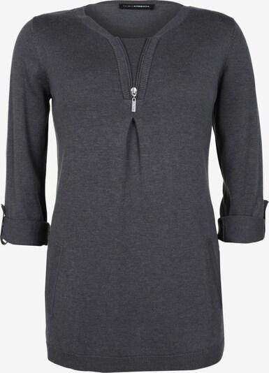 Doris Streich Pullover in grau / graumeliert, Produktansicht