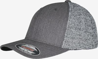 Flexfit Casquette en gris chiné / noir, Vue avec produit