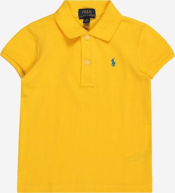 Tricou de la Polo Ralph Lauren pe galben