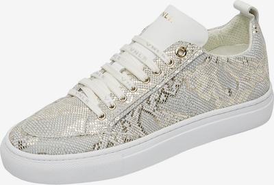Van Lier Sneaker 'Violetta ' in gold / weiß, Produktansicht