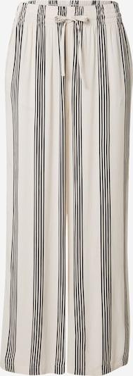 Gina Tricot Hose 'Disa' in beige / schwarz, Produktansicht