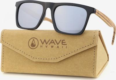 Wave Hawaii Sonnenbrille ' Dropp ' in beige / schwarz, Produktansicht