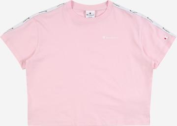Tricou de la Champion Authentic Athletic Apparel pe roz