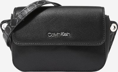 Calvin Klein Bolso de hombro 'Accent' en gris / negro / plata, Vista del producto