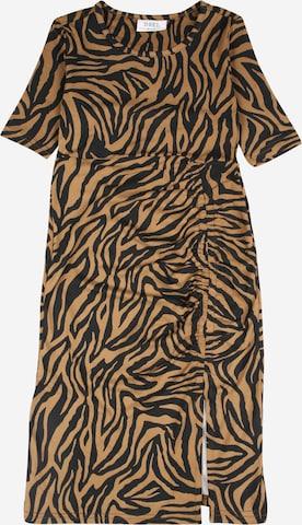D-XEL Dress 'ULRIKKA' in Brown