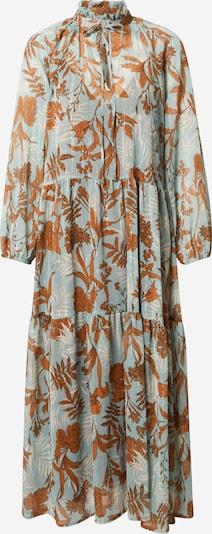 IMPERIAL Kleid in beige / braun / mint / silber, Produktansicht