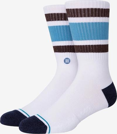 Stance Socken in blau / schwarz / weiß, Produktansicht