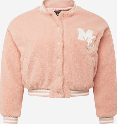 Missguided Plus Jacke in rosa / weiß, Produktansicht