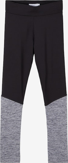 NAME IT Leggings en gris moteado / negro, Vista del producto
