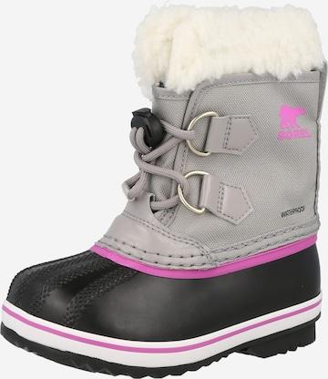 SOREL Snowboots 'YOOT PAC' in Grau