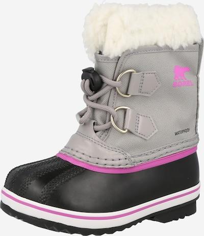 SOREL Čizme za snijeg 'YOOT PAC' u siva / ljubičasta / crna, Pregled proizvoda