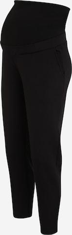 Pantaloni di MAMALICIOUS in nero