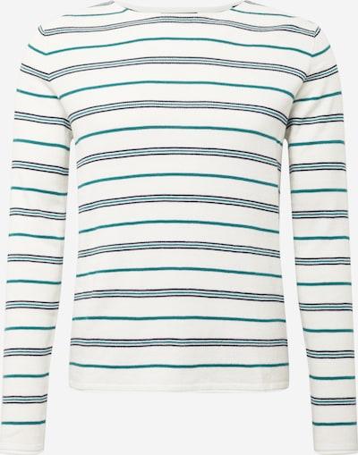 Pullover 'BLASONT' JACK & JONES di colore beige / marino / giada, Visualizzazione prodotti