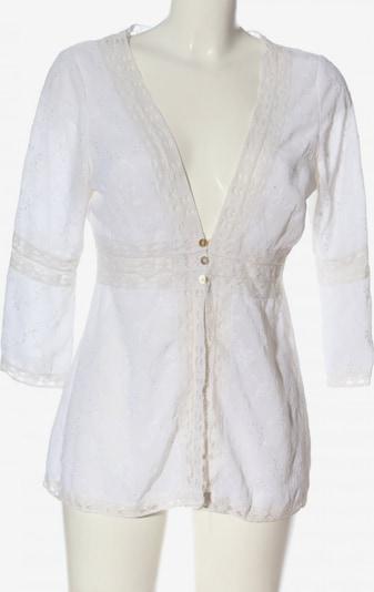 Linea Tesini Blusenjacke in M in weiß / wollweiß, Produktansicht