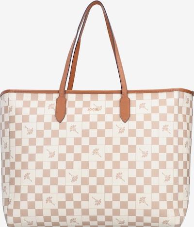 JOOP! Shopper 'Carmen' in braun / weiß, Produktansicht