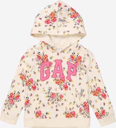 GAP Sweater majica u miks boja / bijela, Pregled proizvoda