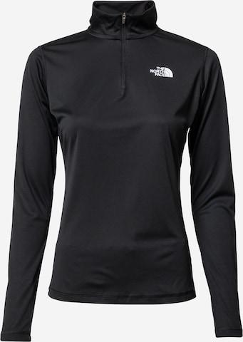 THE NORTH FACE Funksjonsskjorte i svart
