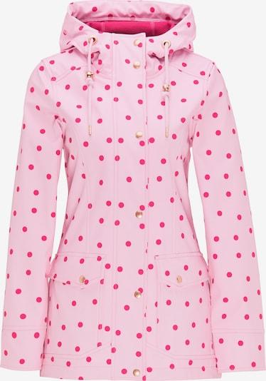 MYMO Softshelljacke in pink / rot, Produktansicht