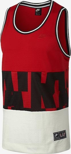 Nike Sportswear Tanktop in rot / schwarz / weiß: Frontalansicht