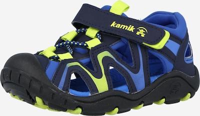 Kamik Sandalen 'KICK' in de kleur Blauw / Navy / Geel, Productweergave