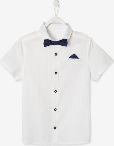 VERTBAUDET Hemd in dunkelgrau / weiß, Produktansicht
