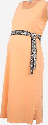 Esprit Maternity Summer Dress in Orange