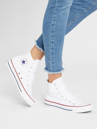 CONVERSE Sneaker 'Chuck Taylor AS Core' in weiß: Frontalansicht
