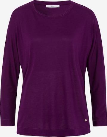 BRAX Shirt 'Charlene' in Purple