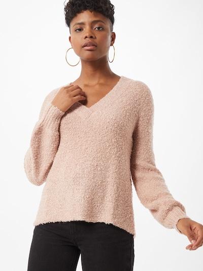 VILA Sweter 'Bossa' w kolorze różowy pudrowym: Widok z przodu