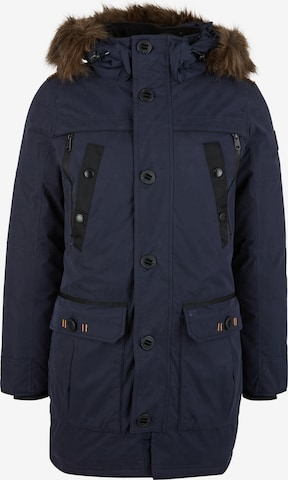 Q/S by s.Oliver Winterparka in Blauw