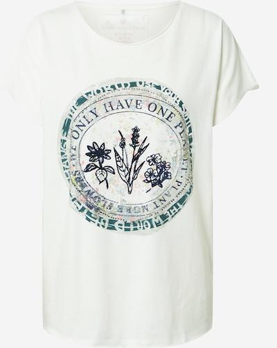 LIEBLINGSSTÜCK T-Shirt 'Camila' in blau / pastellblau / offwhite, Produktansicht