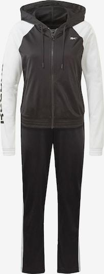 REEBOK Strój treningowy w kolorze czarny / białym, Podgląd produktu