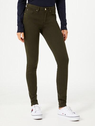 TOMMY HILFIGER Jeans in grün, Modelansicht