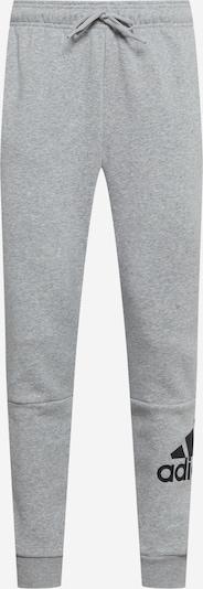 ADIDAS PERFORMANCE Pantalón deportivo en gris moteado / negro, Vista del producto