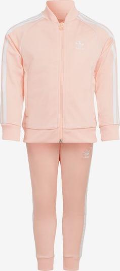 ADIDAS ORIGINALS Jogginganzug in pastellpink / weiß, Produktansicht