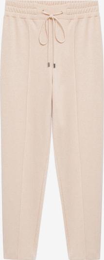 Pantaloni 'Pique 8' MANGO pe nisip, Vizualizare produs