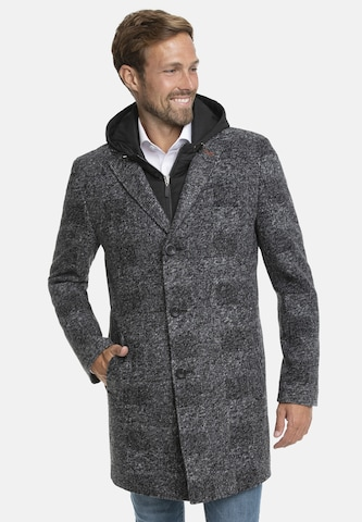 White Bros Between-Seasons Coat 'Liverpool' in Grey