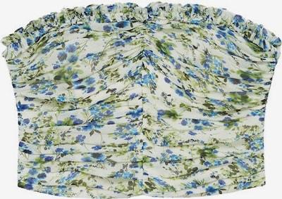 MANGO Top 'Ocean' in blau / grün / weißmeliert, Produktansicht