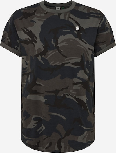 G-Star RAW Shirt in de kleur Mokka / Taupe / Zwart, Productweergave