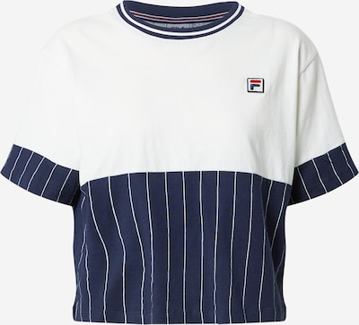 FILA Shirt 'HANAE' in navy / hellrot / weiß, Produktansicht