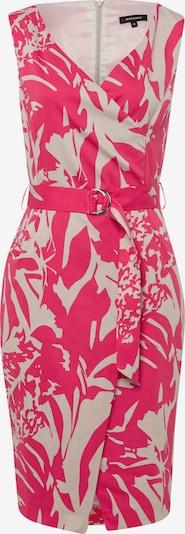 MORE & MORE Kleid in pink / naturweiß, Produktansicht