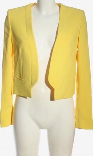 MANGO Kurz-Blazer in S in pastellgelb, Produktansicht