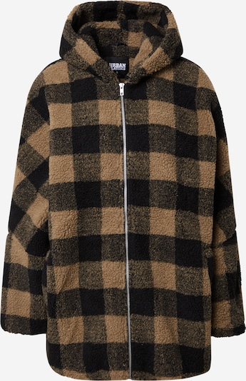 Urban Classics Jacke in beige / schwarz, Produktansicht