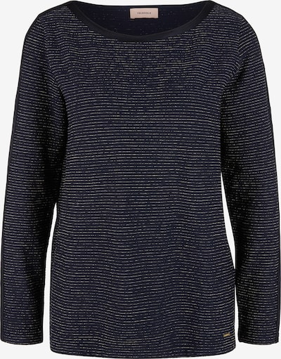 TRIANGLE Shirt in navy / gold, Produktansicht