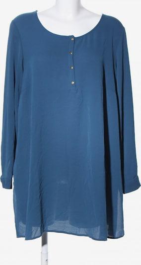 Zizzi Langarm-Bluse in M in blau, Produktansicht