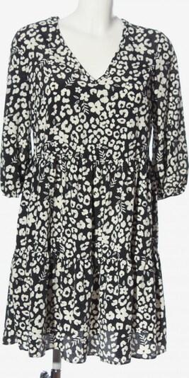 Primark Blusenkleid in S in schwarz / weiß, Produktansicht