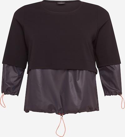 Persona by Marina Rinaldi Sweat-shirt 'OASIBIS' en marine, Vue avec produit