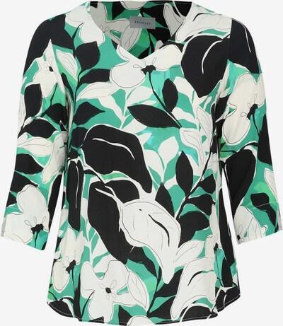 Promiss Bluse in grün / schwarz / weiß, Produktansicht