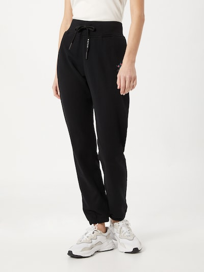 Pantaloni REPLAY pe negru: Privire frontală